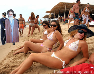 bikini beach teen in sunglasses from emily 18